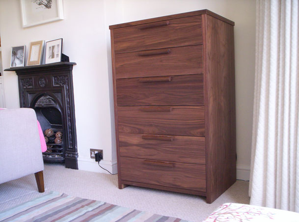 American black walnut philip j beards for American walnut bedroom furniture uk