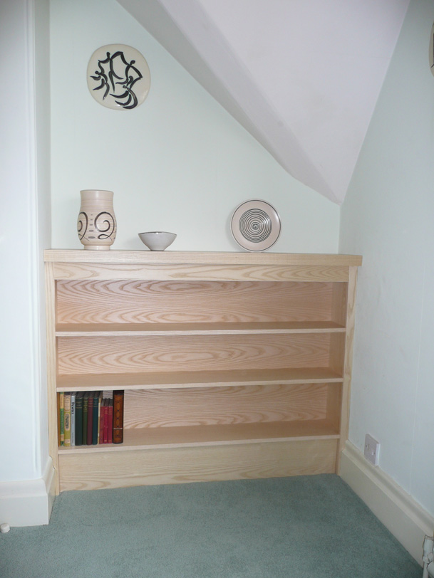 Ash Fitted Bookcase