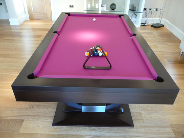 Custom Bespoke Pool Table Philip J Beards - English pool table