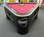 Contemporary Bespoke Pool Table