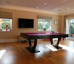 Custom bespoke Pool table