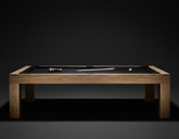 Bespoke Handmade Teak English Pool Table