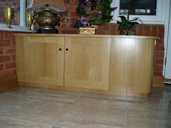 Oak Meter Cupboard