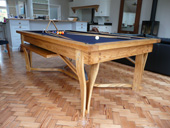 Hand made Pool Dining Table