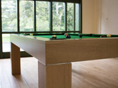 Rise and Fall Pool Dining Table